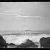 Waves and breakers, Southern California, 1935