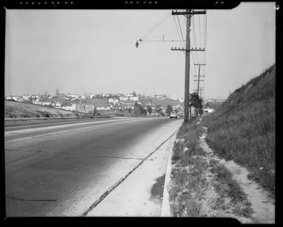 West Pico Boulevard scenes, Los Angeles, CA, 1940