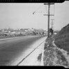 West Pico Boulevard scenes, Los Angeles, CA, 1940