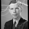 Portrait of Mr. Woodhead, Southern California, 1936