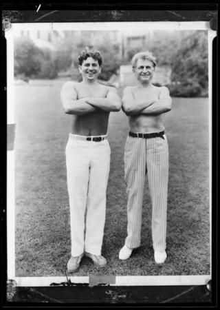 Bragg and McFadden, Southern California, 1936