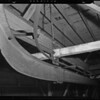 Beam construction in pipe division building, Southern California, 1940
