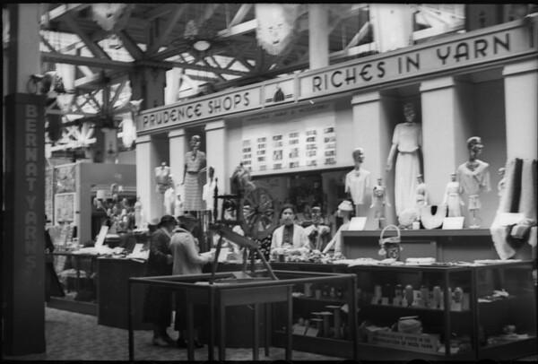 Booth at San Diego Fair, San Diego, CA, 1935