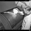 Machine at Washington Cleaners and Dryers, 2512 West Washington Boulevard, Los Angeles, CA, 1940