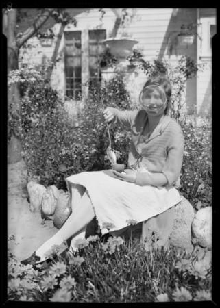 Valencia Orange Show publicity, Southern California, 1927
