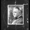 Judge Dawson & heads for composite, Southern California, 1935