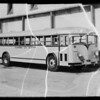 Alhambra City Schools bus, Southern California, 1936