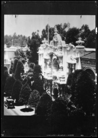 Building at San Diego Fair, San Diego, CA, 1935
