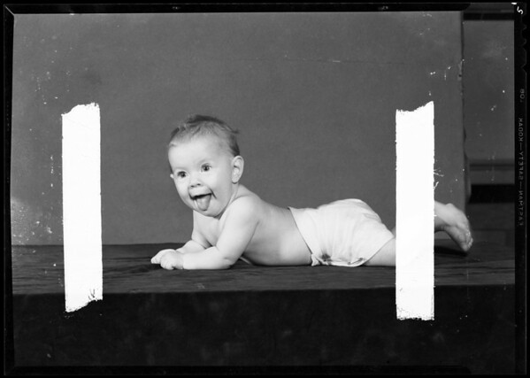 Marsha Way baby, Southern California, 1940