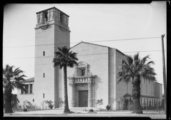 Arlington Avenue Christian Church, 3405 West Pico Boulevard, Los Angeles, CA, 1927