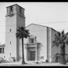Arlington Avenue Christian Church, 3405 West Pico Boulevard, Los Angeles, CA, 1927