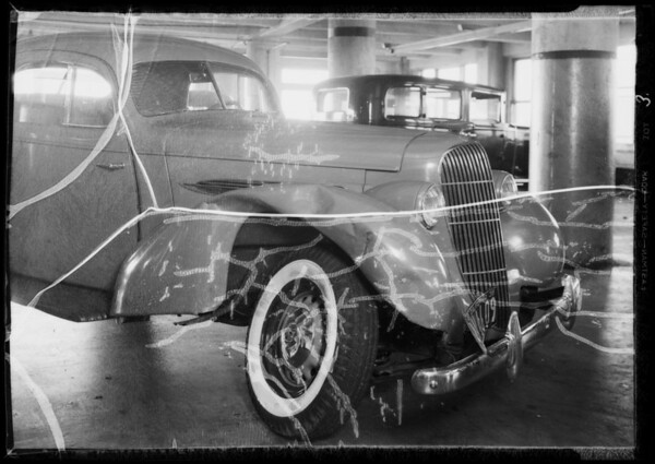 1935 Oldsmobile coupe, Mr. Koenig, owner, Southern California, 1935