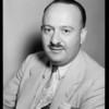 Testimonial man, J.A. Jacobs, Southern California, 1935