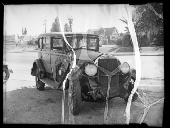 Chrysler and Studebaker, Mr. Ida Drumfield, Southern California, 1935