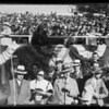 Mr. and Mr. Nash in boxes at Rose Parade, Pasadena, CA, 1936