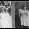 Wayne Whittington & Louise Carter - as children, Southern California, 1940