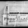 A&P store and fence at 1853 North Vermont Avenue, Los Angeles, CA, 1935