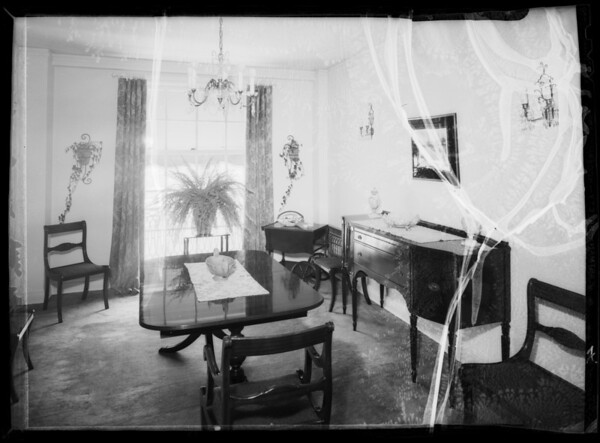 Interiors, Southern California, 1935