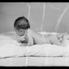 Mrs. Polly Bragg Sonell and her baby, Southern California, 1936