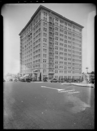 Gaylord Apartments, 3355 Wilshire Boulevard, Los Angeles, CA, 1927