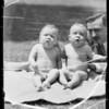 Babies heads, Southern California, 1935