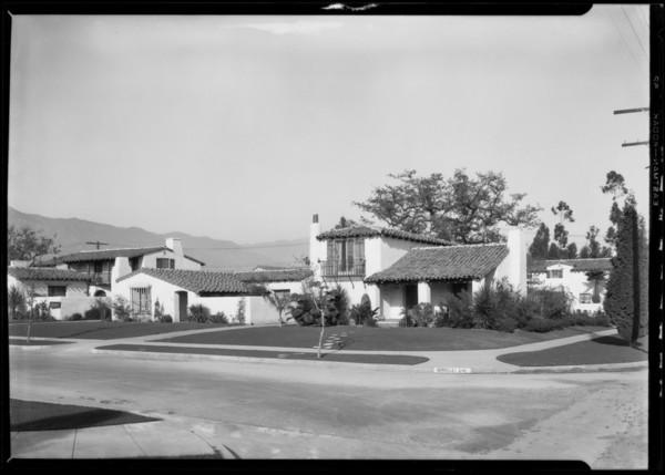 San Marino Woods, Southern California, 1927