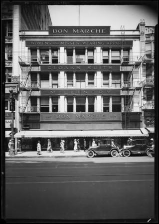Bon Marché building, Southern California, 1926