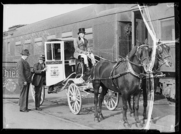 Mr. Cavanaugh anniversary coach, Southern California, 1935