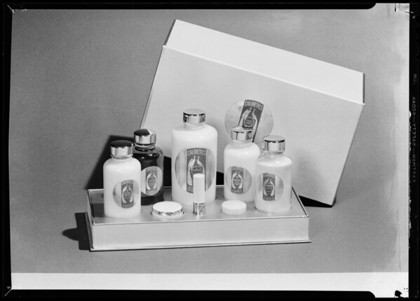 Makeup kit, Calmetics Inc., Southern California, 1940