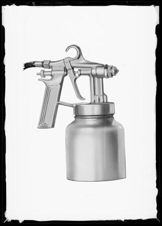 Spray gun, Southern California, 1940