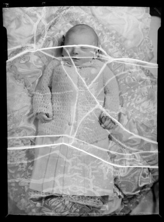 Robert's infant, Southern California, 1936
