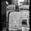 Philco table model radio, Southern California, 1936
