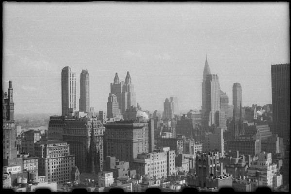New York, New England, 1940