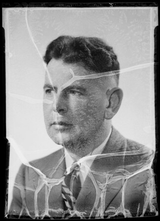 Portrait, Ned Connors, Southern California, 1935