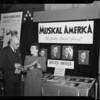 Booth at M.A.E.C. at Biltmore Hotel, Los Angeles, CA, 1940