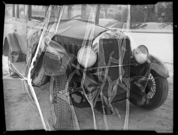 Chrysler and Studebaker, Mr. Ida Drumfield, Southern California, 1935