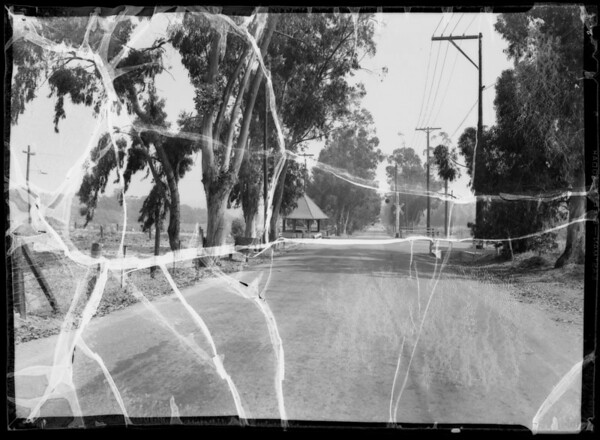 Intersection of Sierra Madre Villa & Central, Pasadena, CA, 1935