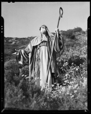 Publicity shots, pilgrimage play, Southern California, 1940