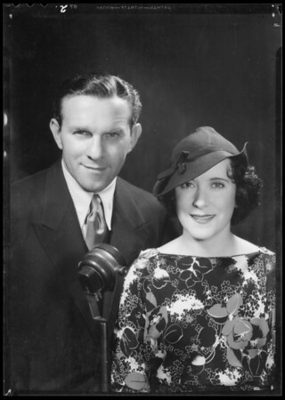 Burns & Allen, Southern California, 1935