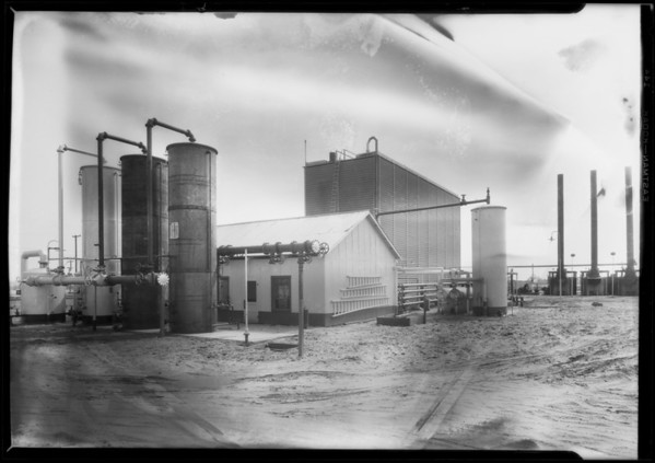 Campbell Absorption Plant, Southern California, 1927