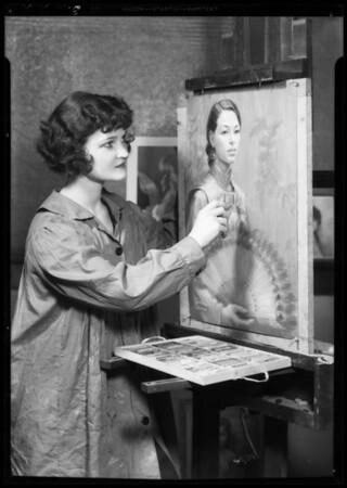 Portraits, Corinne Malvern, Southern California, 1935