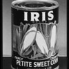 Cans of Iris Corn, Southern California, 1940