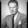 Portrait, William E. Crow, Southern California, 1940