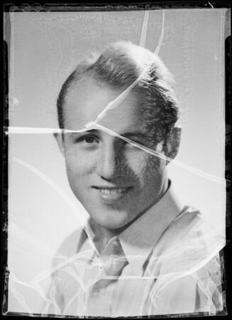 Portrait of Jadd Deese, Southern California, 1935