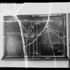 Blackboard in Superior Court, department 13, Erman vs Goodrum, Southern California, 1935