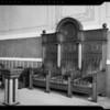Lodge room, Homesteaders Life Insurance building,  845 South Figueroa Street, Los Angeles, CA, 1940