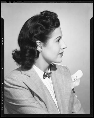 Lillian Bennett, Southern California, 1940