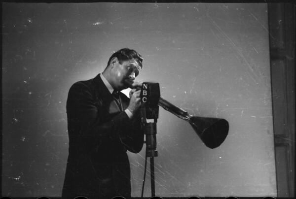 Candid shots of Bob Burns, Southern California, 1936