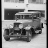 1929 La Salle sedan, John W. Young, owner & assured, Southern California, 1935
