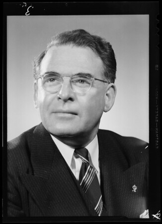 Portrait of Jerry Sullivan, Southern California, 1940